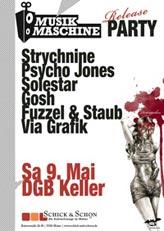 Musikmaschine Release Party: 9. Mai, Schick&Schön / DGB Keller (Mainz)