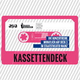 Kassettendeck - Deck3 - Musikmaschine - Staatstheater - AStA