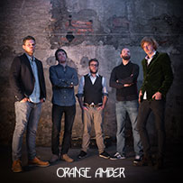 Orange-Amber-Pressefoto-Musikmaschine-Band-Booking-Künstleragentur-Bookingagentur