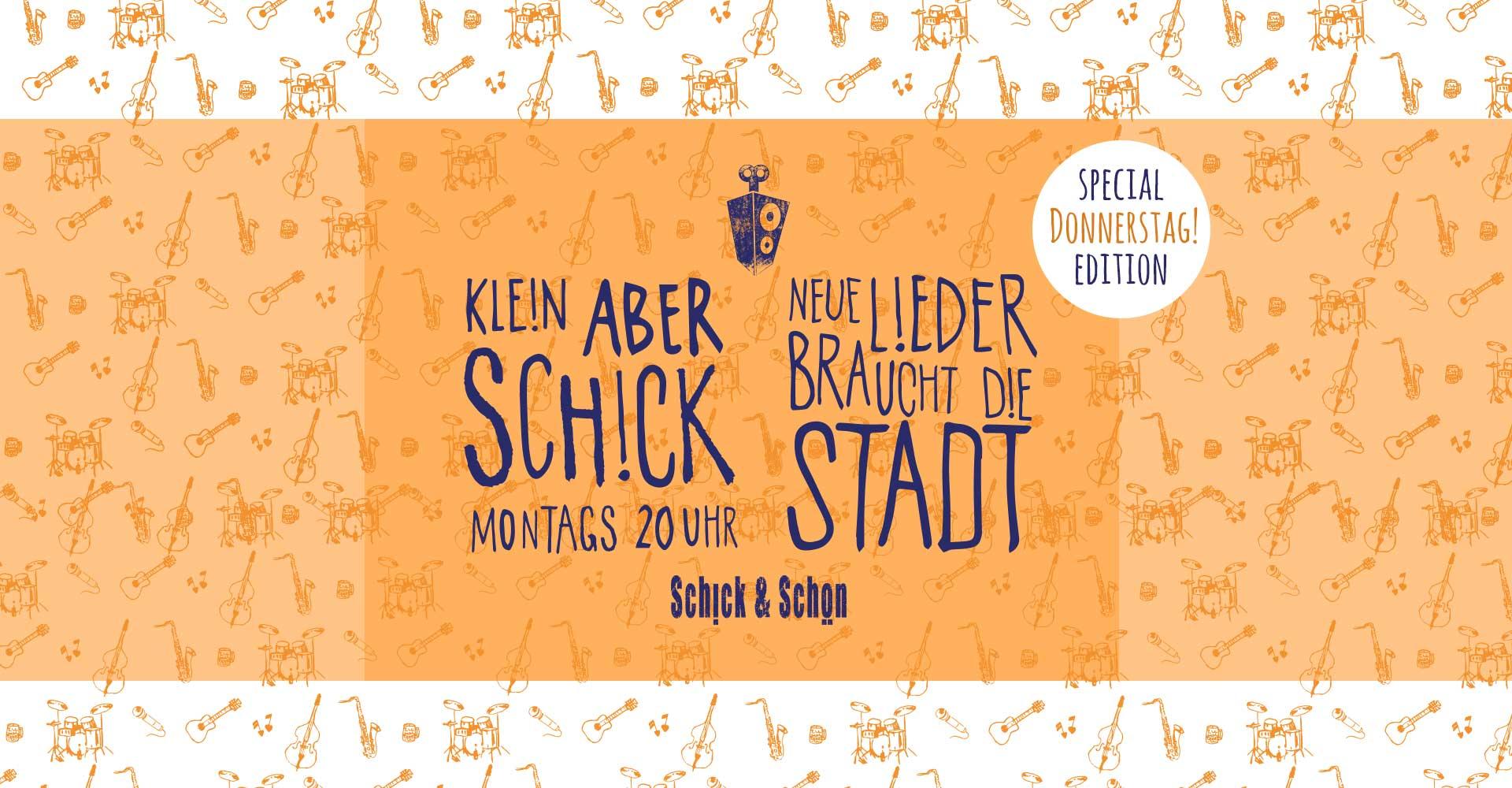 Klein-Aber-Schick-Special-edition-schick-und-schön-Mainz-Musikmaschine-Events-Veranstaltungen-Konzerte