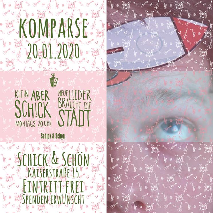 Klein-Aber-Schick-Immer-Montags-schick-und-schön-Mainz-Musikmaschine-Events-Veranstaltungen-Konzerte-Band-Bands-Buchen-Party-Feiern-Donnerstag-special-komparse
