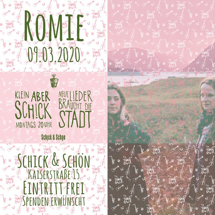 Klein-Aber-Schick-Immer-Montags-schick-und-schön-Mainz-Musikmaschine-Events-Veranstaltungen-Konzerte-Band-Bands-Buchen-Party-Feiern-Donnerstag-special-romie