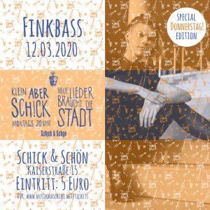 Klein-Aber-Schick-Immer-Montags-schick-und-schön-Mainz-Musikmaschine-Events-Veranstaltungen-Konzerte-Band-Bands-Buchen-Party-Feiern-Donnerstag-special-finkbass