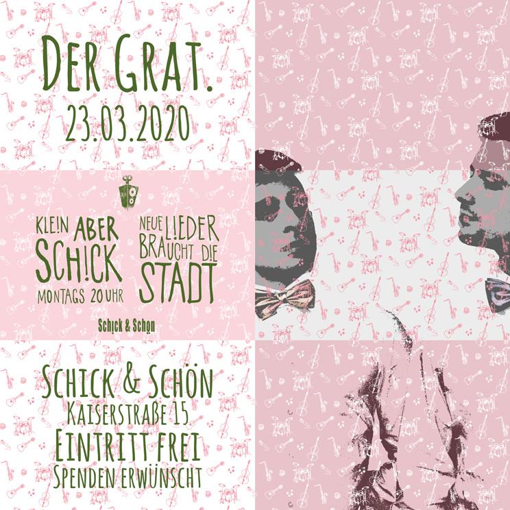 Klein-Aber-Schick-Immer-Montags-schick-und-schön-Mainz-Musikmaschine-Events-Veranstaltungen-Konzerte-Band-Bands-Buchen-Party-Feiern-Donnerstag-special-der-grat