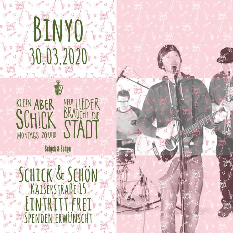 Klein-Aber-Schick-Immer-Montags-schick-und-schön-Mainz-Musikmaschine-Events-Veranstaltungen-Konzerte-Band-Bands-Buchen-Party-Feiern-Donnerstag-special-binyo