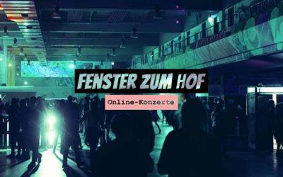 Fenster zum Hof: Stream-Konzerte im Alten Postlager