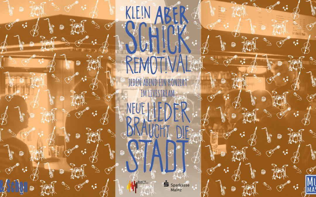 Jeden Abend ein Konzert: Schick & Schön startet Remotival 2021